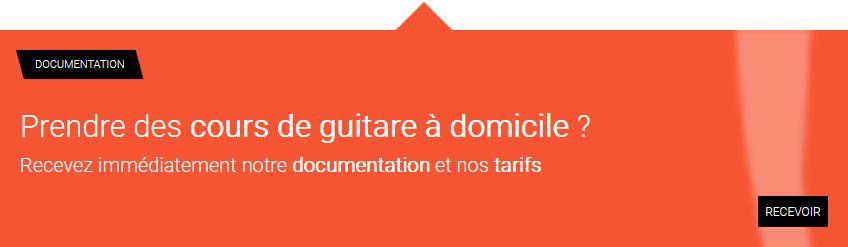 Demande d'information sur les cours de guitare